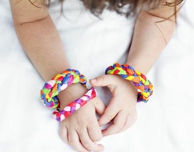 crepe paper bracelets paper craft