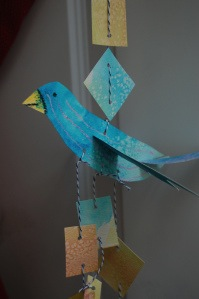 cardboard bird mobile tutorial
