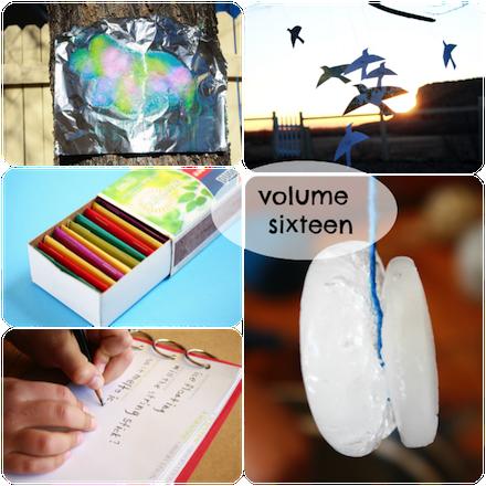Alphabet Glue volume 16 collage
