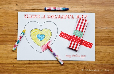 25 wordplay valentine cards to make things to make and do crafts crayon coloring valentine diy solutioingenieria Images