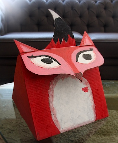 Design.wash.rinse.repeat. fox valentine box