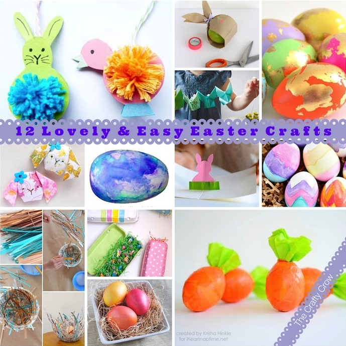 The Crafty Crow Easter craft ideas