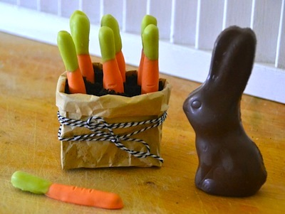 chocolate carrot Easter treat