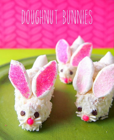 doughnut bunny treat