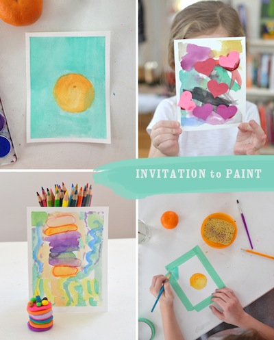 invitation to paint