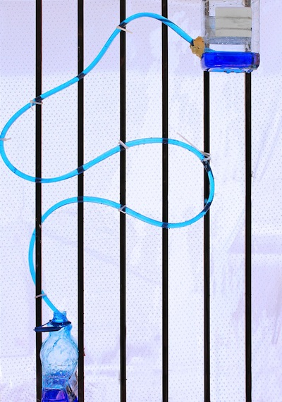 siphon water coaster science project for kids