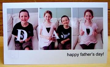 creative homemade Father's Day card idea