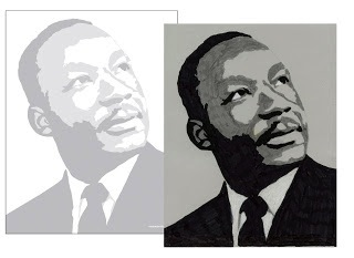 Martin Luther King Jr. coloring page free printable