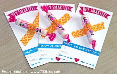 hey smartie homemade valentine card idea