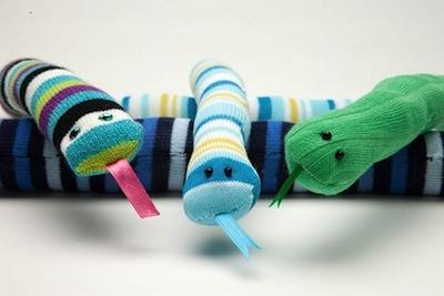 sock snake diy
