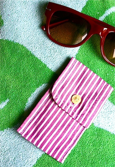 shirt cuff coin pouch