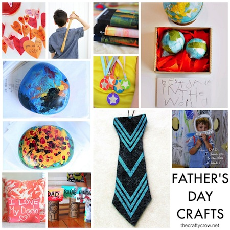 Father's Day Crafts & Gifts @ The Crafty Crow