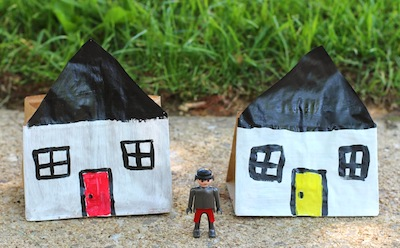 paper bag house craft