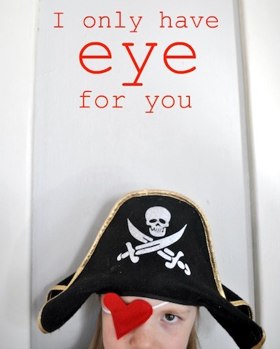 heart eye patch for valentine's day