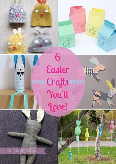 The Crafty Crow 6 Easter crafts you'll love