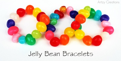 jelly bean bracelet tutorial