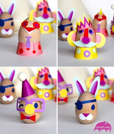 Easter egg dress up printables