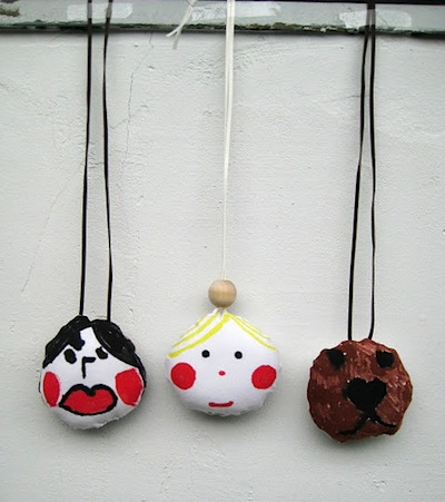 soft amulet necklace charms kids can make