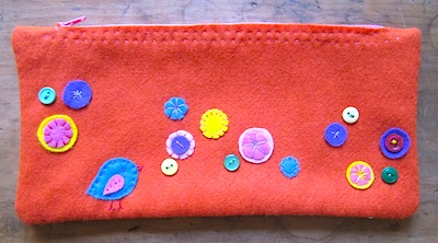 easy zipper pouch for kids to make