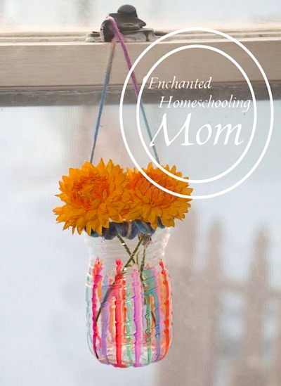 sun catcher vases for  Mother's Day gift
