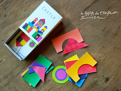free pocket-sized printable shape puzzle toy