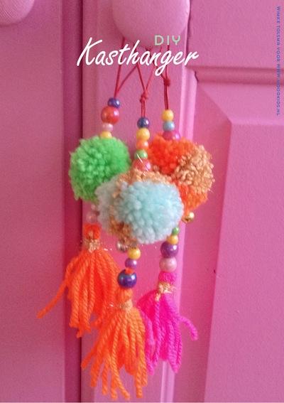 pompom pendant door hangers