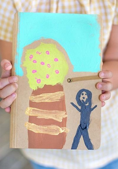 family card journal keepsake