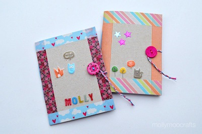 Cereal box notebook diy things to make and do crafts and diy cereal box notebooks ccuart Image collections