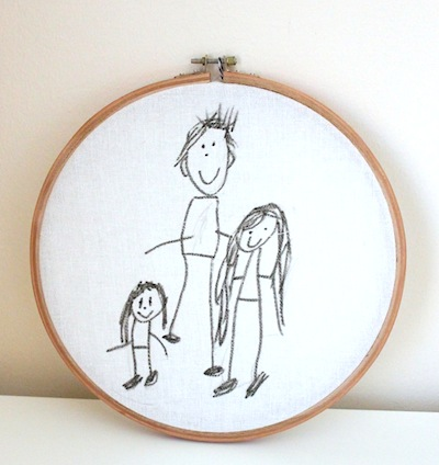 Family Portrait Children S Art Things To Make And Do Crafts And