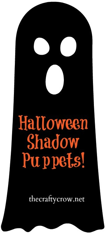 The Crafty Crow free Halloween shadow puppets printables