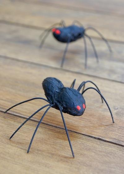 peanut spider craft