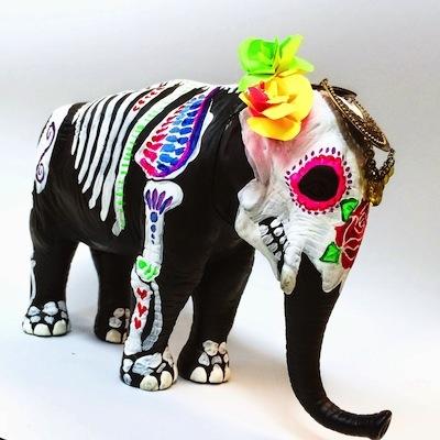 Dia de Los Muertos craft animals