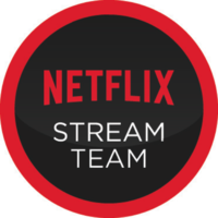 Netflix #StreamTeam badge