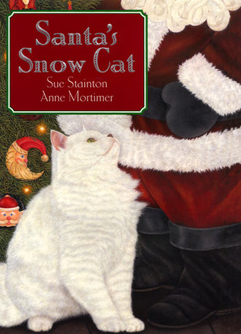Bella Dia Santa's Snow Cat by Sue Stainton