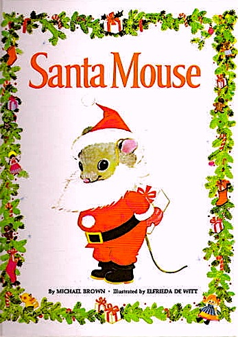 Bella Dia Santa Mouse book craft