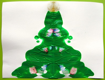 blotto Christmas tree for kids
