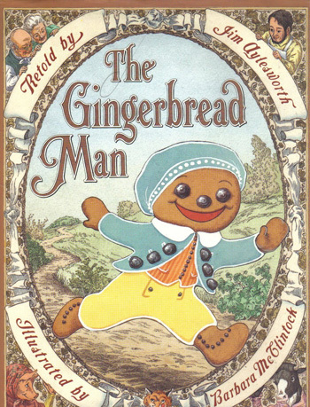 Bella Dia Christmas Book and Activity Advent The Gingerbread Man