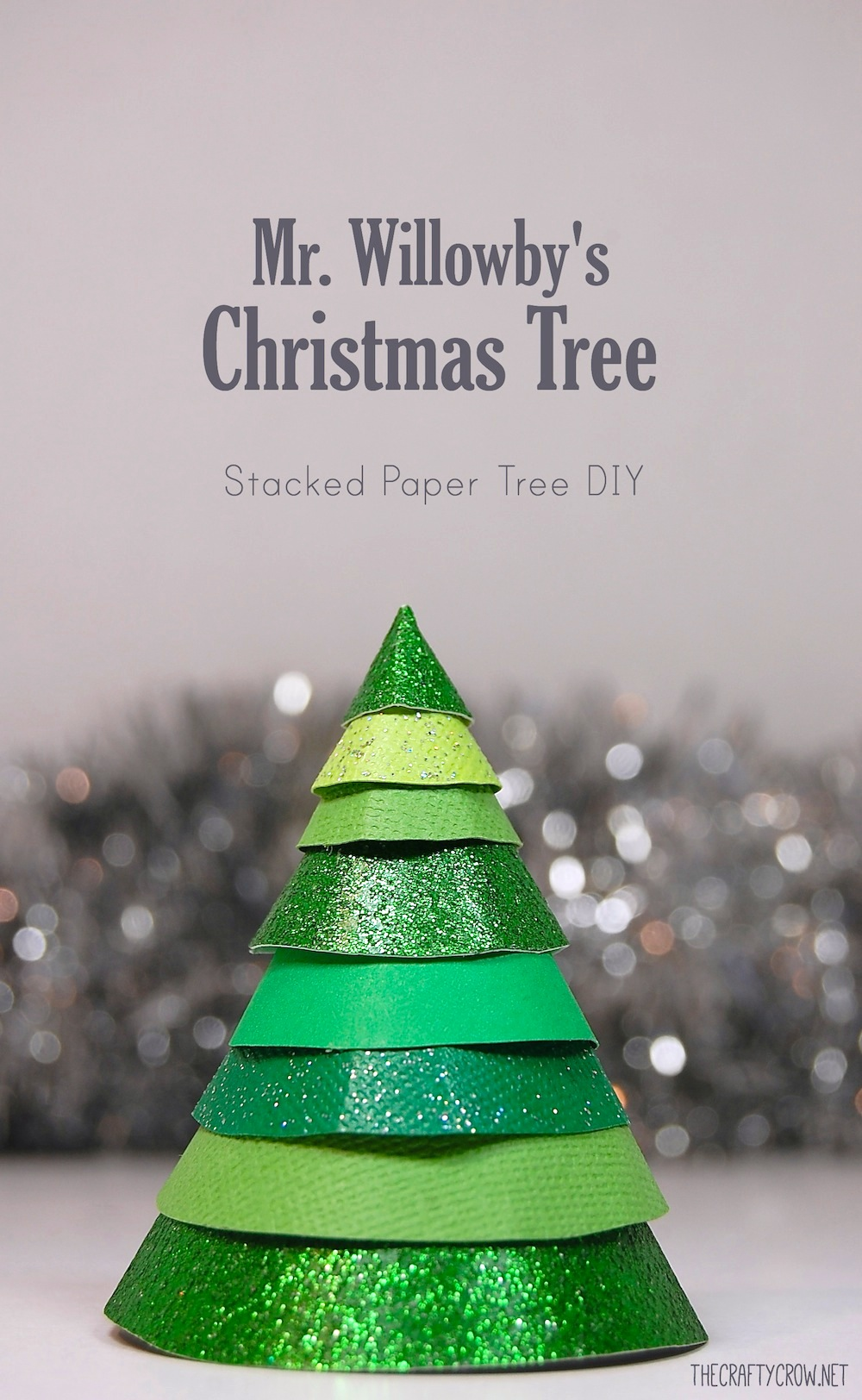 Book and Activity Advent Day 15: Stacked Paper Christmas Tree and Mr ...