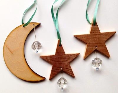 winter solstice sun catcher ornament tutorial