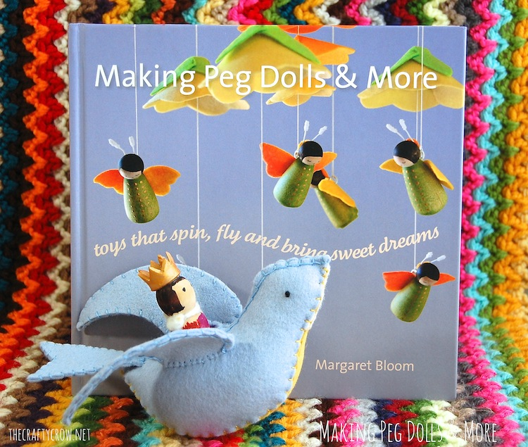 The Crafty Crow Making Peg Dolls & More book review copy