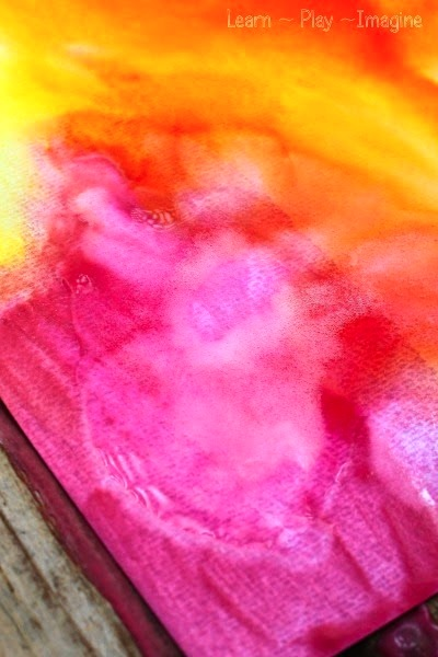 Erupting Baking Soda Paint Things To Make And Do Crafts And