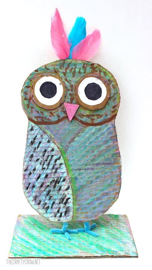 The Crafty Crow Brian Wildsmith Birds owl art lesson