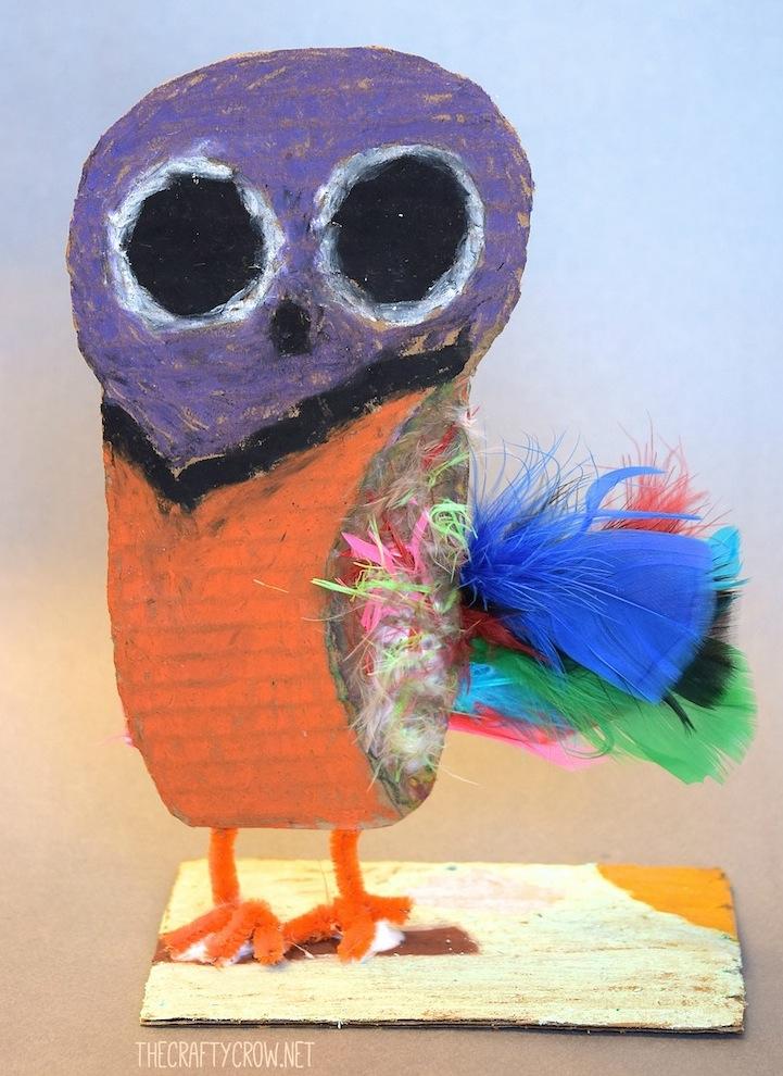 The Crafty Crow Brian Wildsmith Birds owl art lesson 7yo