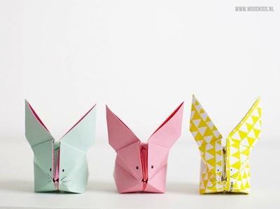 bunny rabbit origami tutorial