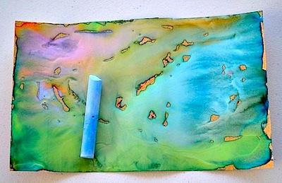 sand paper art for kids
