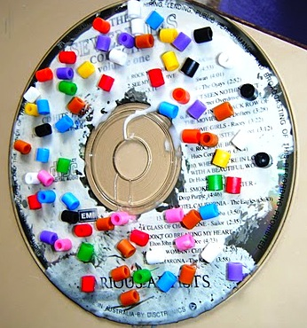 arts and crafts with CDs