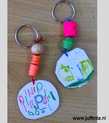 keychain craft for Father's Day kids can make