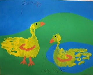 duck craft farm craft for kids