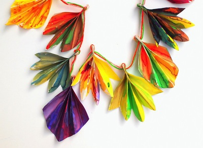 Paper Leaf Craft For Fall Things To Make And Do Crafts And