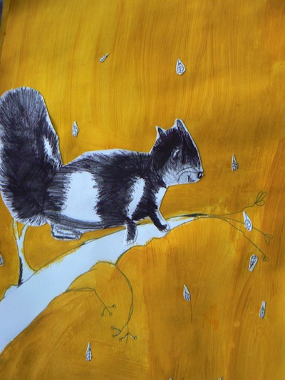 squirrel art project